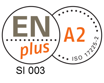 ENplus Quality seal A2 SI 003